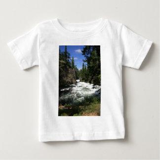 Benhamの滝、Sunriver、オレゴン ベビーTシャツ