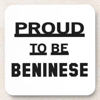 Benineseがあること誇りを持った コースター