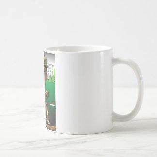 BenitObamaのシャベル コーヒーマグカップ