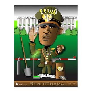 BenitObamaのシャベル ポストカード