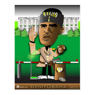 BenitObamaの帽子 ポストカード