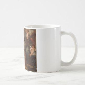 Benjami著3つの要素の愛の力 コーヒーマグカップ