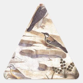 Benozzo Gozzoli著(詳細)崇拝する天使 三角形シール