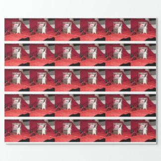 Bensonの歌うキャロルペットラットのギフト用包装紙 ラッピングペーパー