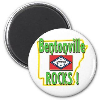 Bentonvilleの石! (緑) マグネット