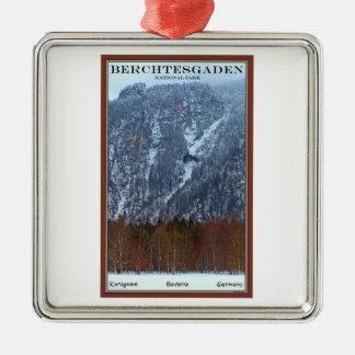 Berchtesgadenの国立公園-冬 メタルオーナメント