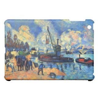 Bercy -ポールCézanne (1878年)のセーヌ河 iPad Mini Case