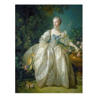 Bergeret、c. 1766年夫人(キャンバスの油) ポストカード