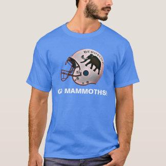 Beringiaのフットボールの大学 Tシャツ