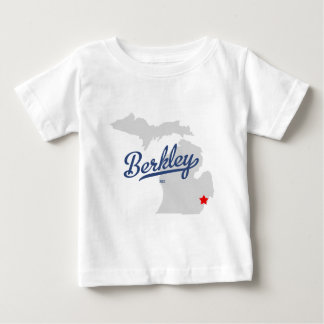 Berkleyミシガン州MIのワイシャツ ベビーTシャツ