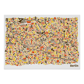 Berlin Poster プリント