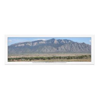 BernalilloニューメキシコのSandia山 フォトプリント
