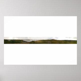 Bernera、スコットランドの島 ポスター