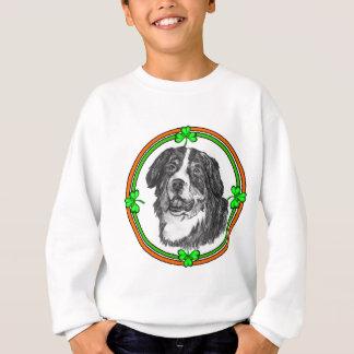 Bernese Mtn犬St patricks スウェットシャツ