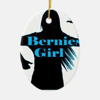 Berniesの女の子のベルニーの研摩機 セラミックオーナメント