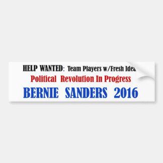 BernieSanders: 白の政治改革 バンパーステッカー