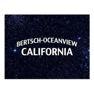 Bertsch-Oceanviewカリフォルニア ポストカード