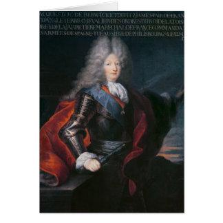 BerwickのジェームススチュワートFitzjamesの第1公爵 カード
