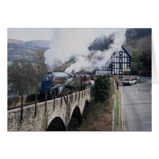 Berwyn Viaduの南アフリカ共和国の蒸気の列車の連合、 カード