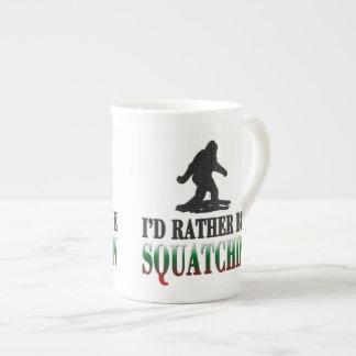*BEST VERSION*私はむしろSquatchinのサスカッチです ボーンチャイナカップ