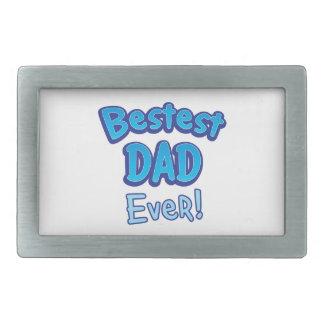 BestestのパパBFFの父 長方形ベルトバックル