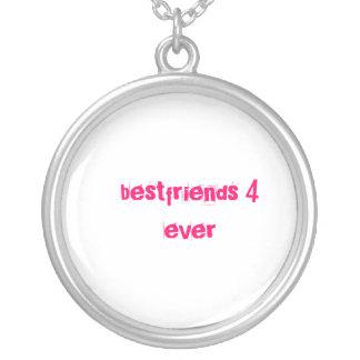 bestfriends シルバープレートネックレス