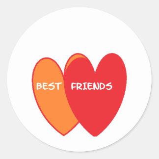bestfriends ラウンドシール