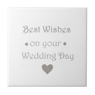 Bestwishesの婚礼の日 タイル