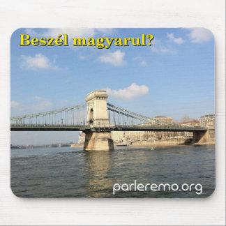Beszélのmagyarulか。 ブダペスト、ハンガリー マウスパッド