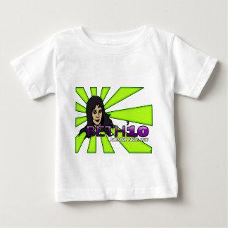 Beth'10の赤ん坊 ベビーTシャツ