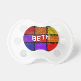 BETH (女性の名前) おしゃぶり