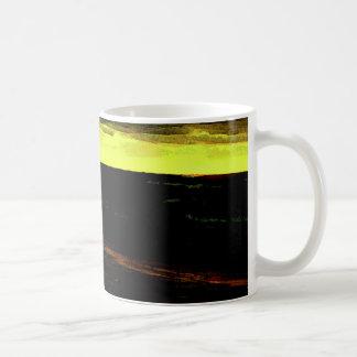 Bethanyのビーチの日没の日没 コーヒーマグカップ