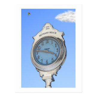 Bethanyの時計および凧の郵便はがき ポストカード