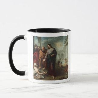 Bethesda 1667-70年のプールのキリスト(カリフォルニアの油 マグカップ