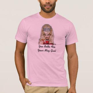 Bettaの苦境あなたのマグGurl (またはカスタムな文字) Tシャツ