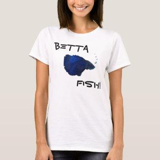 Bettaの魚のワイシャツ Tシャツ