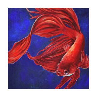 Bettaの魚の絵画キャンバスのプリント キャンバスプリント