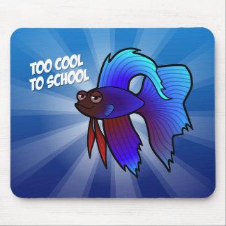 Bettaの魚; 学校への余りにカッコいい マウスパッド