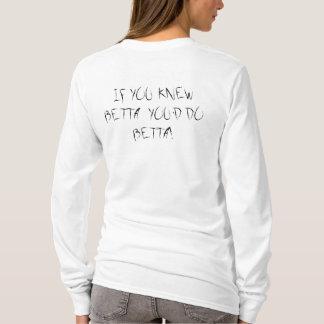 BETTAを知っていたらBETTAをします! Tシャツ