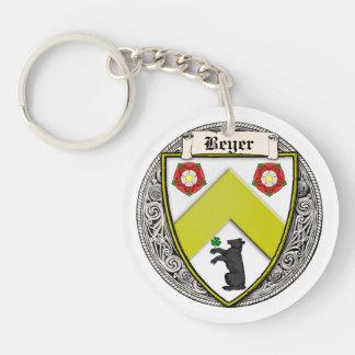 Beyer (スイス連邦共和国かザクセン)家族の腕 キーホルダー