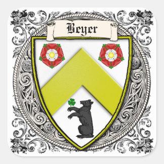 Beyer (スイス連邦共和国かザクセン)家族の腕 スクエアシール
