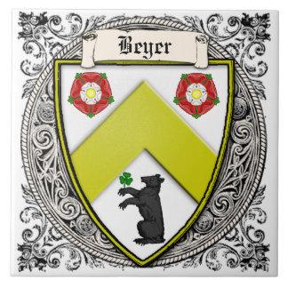 Beyer (スイス連邦共和国かザクセン)家族の腕 タイル