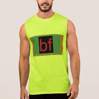 BFのワイシャツ 袖なしシャツ