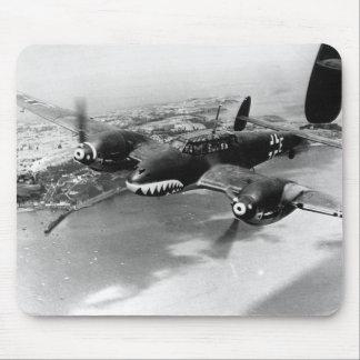 Bf110のパトロール英国の海岸-威厳があるな1940年 マウスパッド