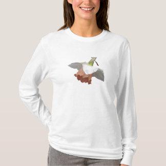 BF-敏感なラッパスイセンのワイシャツ Tシャツ