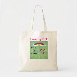 BFFのトートバック トートバッグ