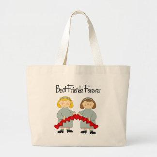BFFの友情のトート ラージトートバッグ