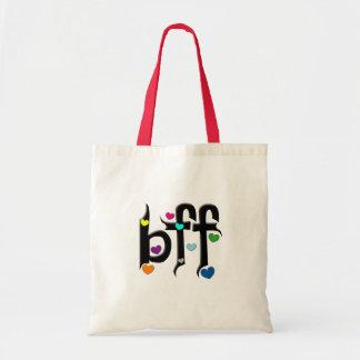 bffの~のハート トートバッグ