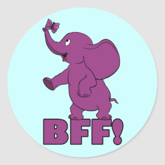 BFF! ラウンドシール
