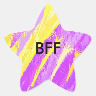 BFF 星シール